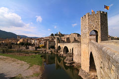 Besalu, Spain Royalty Free Stock Photo