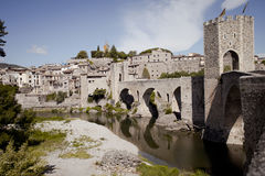 Besalu Spain Royalty Free Stock Photos