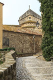 Besalu Spain, a Catalan village Stock Photo
