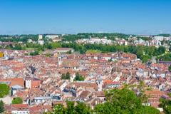 Besançon an einem sonnigen Sommertag Lizenzfreie Stockfotos