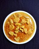 Besan Guthli curry Quick Gram Flour Curry. Indian style tasty quick and easy to make recipe stock images