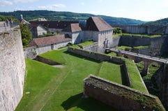 besancon fästning arkivbild