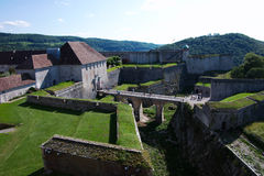 Besancon Fortress Royalty Free Stock Photos