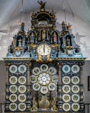 BESANCON/FRANCE - SEPTEMBER 13 : View of the Astronomical Clock Stock Photography