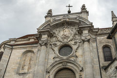 BESANCONS, FRANCE/EUROPE - 9月13日:圣吉恩大教堂  免版税库存照片