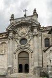 BESANCONS, FRANCE/EUROPE - 13 DE SEPTIEMBRE: Catedral de St Jean adentro imagen de archivo