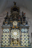 BESANCONS, FRANCE/EUROPE - SEPTEMBER 13: Astronomical Clock in C Royalty Free Stock Images