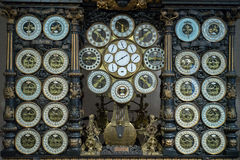 BESANCONS, FRANCE/EUROPE - SEPTEMBER 13: Astronomical Clock in C Royalty Free Stock Image