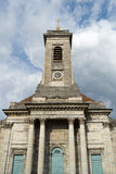 BESANCONS, FRANCE/EUROPE - 13 SEPTEMBER: Kerk van St Peter binnen stock foto's