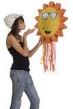 Besar el sol Fotos de archivo libres de regalías