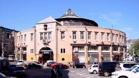 Besarabsky Market in Kiev, Ukraine, stock video footage