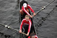 Besatzung der McGill Hochschulfrauen Stockbild