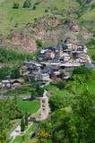 Bescaran in Catalonië, Spanje Royalty-vrije Stock Afbeeldingen