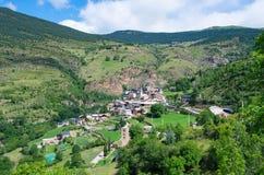 Bescaran in Catalonië, Spanje Stock Afbeelding