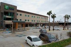 Beschädigt durch Hurrikan Odile-Hotel Stockfoto