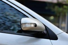 Beschädigtes Fahrzeug nach Unfall Stockfotografie