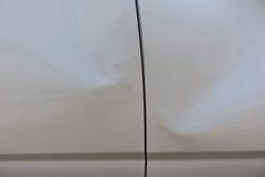 Beschädigtes Fahrzeug nach Unfall Lizenzfreie Stockbilder