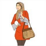 Beschäftigte Frau lizenzfreie stockbilder