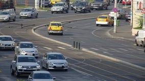 Beschäftigter Tag im Verkehr Lizenzfreie Stockfotos