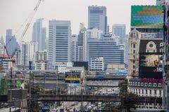 Beschäftigtes Bangkok Lizenzfreie Stockbilder