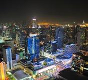 Beschäftigtes Bangkok, Thailand Stockfotos