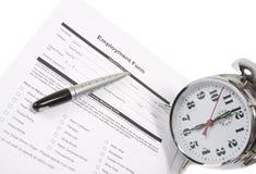 Beschäftigung-Prüfung Stockbild