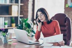 Beschäftigungsfristenzeitplan Eyewearglas-Schauspielarbeitgeber Lizenzfreies Stockfoto