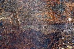 Beschadigd staalpatroon Royalty-vrije Stock Afbeeldingen