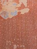 Beschadigd uitstekend behang Stock Foto's