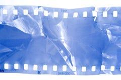 Beschadigde filmstrook stock fotografie