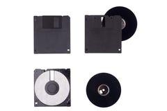 Beschadigde floppy disk Royalty-vrije Stock Fotografie