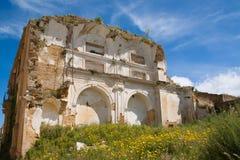 Beschadigde kerk Royalty-vrije Stock Afbeeldingen