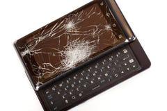 Beschadigde Slimme Telefoon Royalty-vrije Stock Afbeelding
