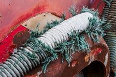 Beschadigde zuigingsslang Stock Fotografie