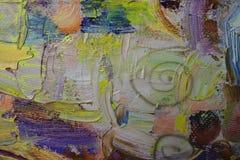 Beschaffenheit, Öl, Malerei, Künstler, Roman Nogin, Hintergrund - Handzeichnung stockfotografie