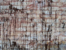 Beschaffenheit der alten Backsteinmauer. Stockbilder