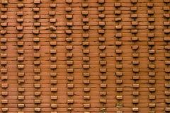 Beschaffenheit der alten Backsteinmauer Stockfoto