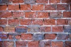 Beschaffenheit der alten Backsteinmauer Lizenzfreies Stockbild