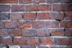 Beschaffenheit der alten Backsteinmauer lizenzfreies stockfoto