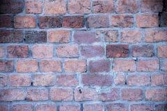 Beschaffenheit der alten Backsteinmauer Stockfotografie