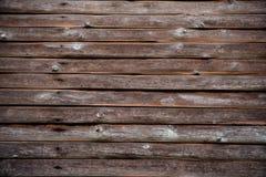 Beschaffenheit der alten Bauholz-Holz-Wand Stockbild