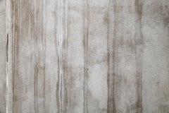 Beschaffenheit der alten Betonmauer mit Flecken Stockfotografie