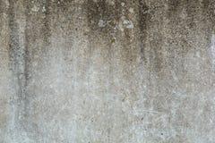 Beschaffenheit der alten grauen Schmutzbetonmauer für Hintergrund Stockfoto