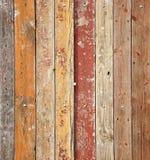 Beschaffenheit der alten hölzernen Planken stockbild