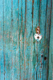 Beschaffenheit der alten hölzernen Tür Stockfotografie