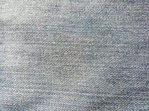 Beschaffenheit der alten Jeans Stockfotografie