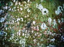 Beschaffenheit der alten rissigen Farbe, Hintergrund Stockbild