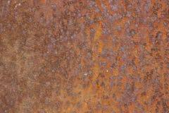 Beschaffenheit der alten rostigen Metalloberfläche Stockfotos