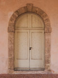 Beschaffenheit der alten Tür Stockfotos