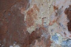 Beschaffenheit der alten Wand Stockbild